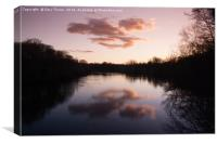 Clumber Lake Sunset