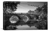 Clumber Park Bridge, Canvas Print
