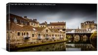 Pulteney Bridge - Colour, Canvas Print
