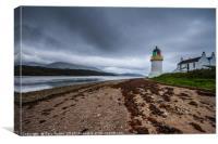 Corran Narrows Lighthouse, Canvas Print
