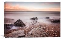 Chemical Beach Tide, Canvas Print