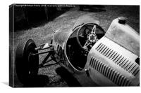 Cooper 500 F3 in paddock, Canvas Print
