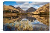 Lochan Urr, Scotland, Canvas Print
