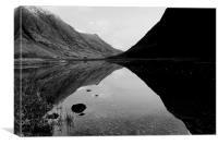 Loch Achtriochtan, Glencoe, Canvas Print
