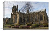 Tideswell Church, Canvas Print