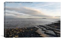 Lavernock Point, Canvas Print