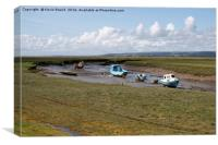 Loughor Estuary, Canvas Print