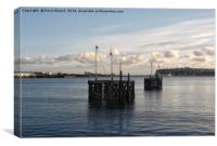 Cardiff Bay Structures, Canvas Print