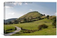 Chrome Hill Dovedale, Canvas Print