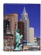 Statue of Liberty, Las Vegas, USA, Canvas Print