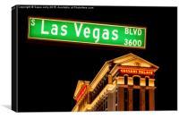 Caesars Palace Hotel, Las Vegas, Canvas Print
