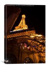 Eiffel Tower, Las Vegas, Canvas Print