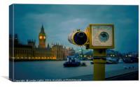 Oversight @londonlights, Canvas Print