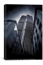 Towering @londonlights, Canvas Print
