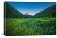 Rjukan Awaits, Canvas Print