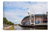 The Millennium Stadium, Canvas Print