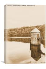Swiss Valley reservoir, Canvas Print