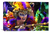 Summer Solstice parade , Santa Barbara , 2011., Canvas Print