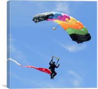 Parachutist, Canvas Print