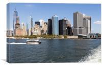 Lower Manhattan New York, Canvas Print