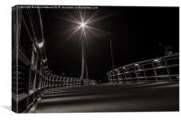 Foot Bridge, Canvas Print
