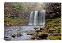 Sgwd Y Eira Waterfall, Canvas Print