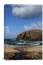 Dail Beag Beach, Canvas Print