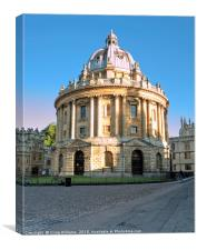 Radcliffe Camera, Oxford, Canvas Print