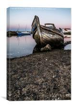 Abandoned Fishing Boat III, Canvas Print