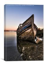 Abandoned Fishing Boat IV, Canvas Print