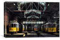 Lisbon Streetcars I, Canvas Print