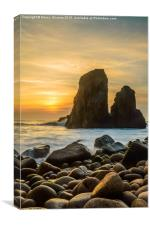 Sunset At Cape Roca IV, Canvas Print