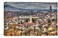 Bern Old Town, Canvas Print