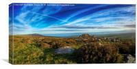 Stunning view towards Newport Bay Pembrokeshire, Canvas Print