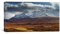 Sgurr nan Gillean, Cuillin Mountains, Canvas Print