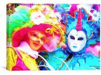 Carnevale!, Canvas Print
