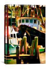 Menemsha M.V., Canvas Print