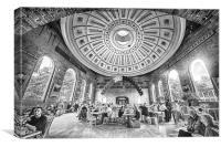 Faneuil Halls, Boston Massachussetts, Canvas Print