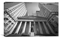 Wall Street NYC, Canvas Print