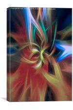 Upright Mandala, Canvas Print
