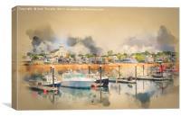 Provincetown Harbour Cape Cod, Canvas Print