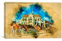 Auxerre France, Canvas Print