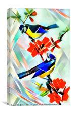 Avian Twist I, Canvas Print