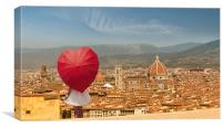 Florence in my Heart, Canvas Print