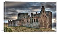Crichton Castle, Canvas Print