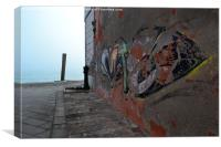 Venetian Graffit, Canvas Print
