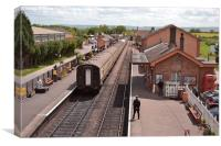 Bishops Lydeard Station, Canvas Print