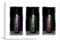 Wine Bottles, Canvas Print