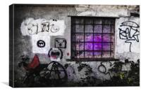 Graffiti, Canvas Print