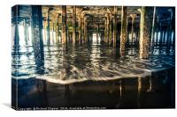 Under Clacton Pier, Canvas Print